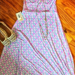 Lilac & Mint Maxi Skirt Size XS
